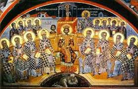 Council Of Constantinople 553 Sunday Of The Fathers Of The Ecumenical Council Of Nicaea
