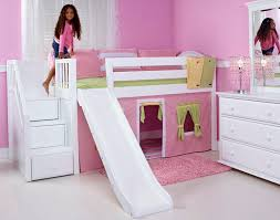 Matrix Bunk Beds Matrix Low Loft Bed With Stairs And Slide Amorsito Pinterest