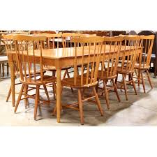 Shaker Style Dining Table And Chairs Fascinating Solid Cherry Shaker Style Dining Table Chairs Upscale
