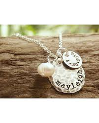 mothers necklace with kids birthstones tis the season for savings on necklace kids name necklace