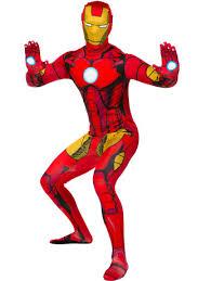 second skin iron man costume fancydress com
