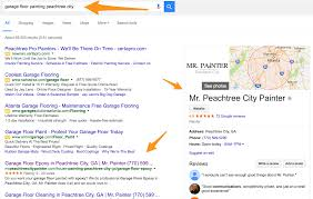 1 google ranking for garage floor painting ewebify results