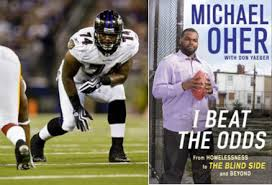 Mike Oher Blind Side Michael Oher Appears For I Beat The Odds From Homelessness To