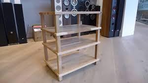 Audio Rack Diy Hi Fi Racks Podium Slimline Mueble Furniture Youtube