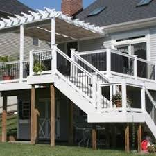 Pergola Deck Designs by Deck With Pergola The Land Scape That I Love Pinterest