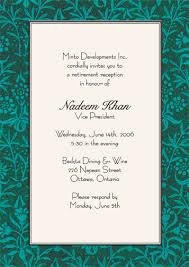 retirement invitation wording retirement reception invitation wording retirement party