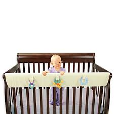 Convertible Crib Rail Leachco Easy Teether Large Convertible Crib Rail Cover