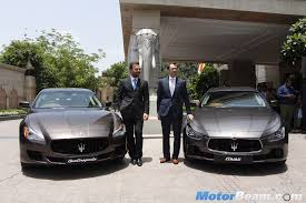 maserati models back maserati officially re enters india with launch of 4 models