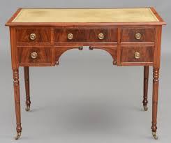Antique Writing Table English Regency Mahogany Ladies Antique Writing Desk