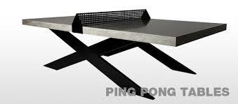 Hart Concrete Design - Designer ping pong table
