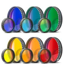 Baader Colour Filters Blue Bright Blue Green Yellow Red Orange