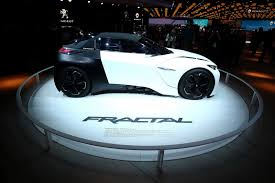 peugeot fractal fractal concept too cool not to bring to paris