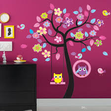 wholesale diy large decor decals art home removable owl mural wall wholesale diy large decor decals art home removable owl mural wall stickers kid baby nursery tree wall decals for bedroom wall decals for bedrooms from