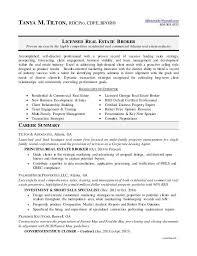 real estate broker resume real estate broker resume samples