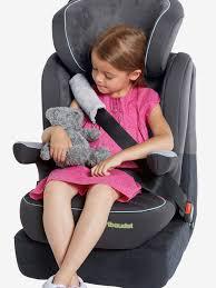 protege ceinture siege auto bébé protège sangle vertbaudet pour ceinture de sécurité gris vertbaudet