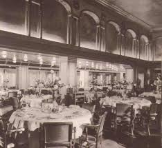 Titanic First Class Dining Room Cruise Ship History This Is Mgm U0027s 1930s Musical Honolulu Aboard