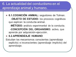 conductismo animal tema 7 el conductismo ppt video online descargar