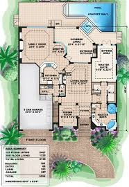 mediterranean house plans florida one story house designs plan w66237we two story