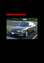 1998 infiniti i30 service repair factory manual instant download
