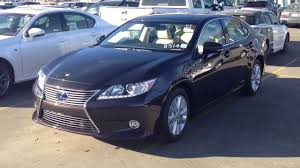 lexus es300h used car 2014 es300h hybrid review youtube