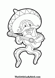 christmas in mexico coloring page coloring home