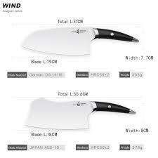 kitchen knives german aliexpress com buy tuobituo 2pcs set chinese cleaver u0026 hacking