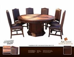 Mexican Dining Room Furniture Copper Ridge 360 Artisan Furniture End Set International