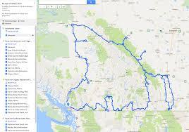 Canadian Rockies Map Roadtrip 2016 Von Vancouver In Die Rockies Und Zurück U203a Out Of
