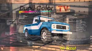 dupli color 1969 scout restoration series intro youtube