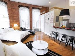 Interior Design Studio Apartment Best 25 Exposed Brick Apartment Ideas On Pinterest Industrial