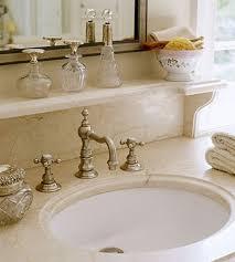 shelf above bathroom sink bath ideas elegant baths slide show decorative shelves sinks and