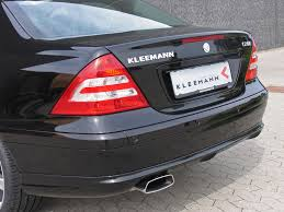 2006 mercedes c class 2006 kleemann c20k based on mercedes c class rear section