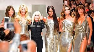 milan fashion week return u002790s supermodel style