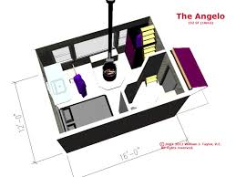 the angelo affordable open plan small footprint passive solar