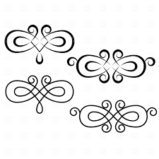 swirl design elements royalty free vector clip image 1905