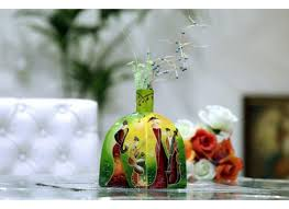 designer glass floral vase table vase home decor online