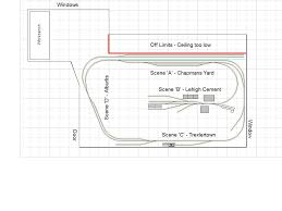 new track plan forget the small plans i ve moved and now have a complete bedroom available for a layout with the help of maptech s historical maps current bing