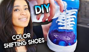 how to color changing shoes with water heat solar u0026 blacklight