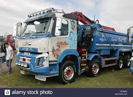 volvo truck pictures free volvo tipper truck stock photo royalty free image 129686862 alamy
