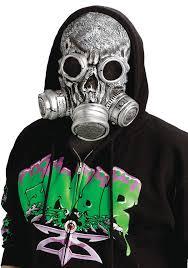 Invisible Halloween Costume Biohazard Bio Chemical Zombie Horror Gas Mask Halloween Costume