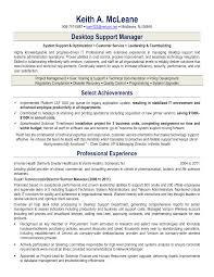 help desk manager job description desktop support technician resume exle exles of resumes