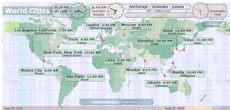 10 ways to visualize time zones around the world be on time