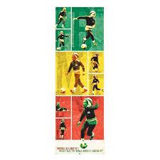 bob marley soccer rasta door poster