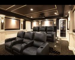 home theater basement luxury home theater with grand seating and artistic design