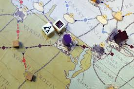 Underground Railroad Map The Boardgaming Way Pittsburgh Post Gazette Ohio Company Making A