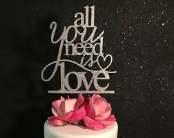 all you need is cake topper you more cake wedding cake topper gold cake topper