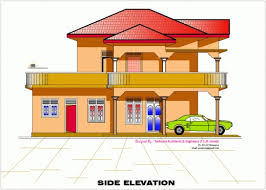 home design engineer wonderful 2d elevation and floor plan of 2633 sqfeet kerala home