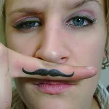 finger tattoo design mustache finger tattoo designs ideas and meaning tattoos for you