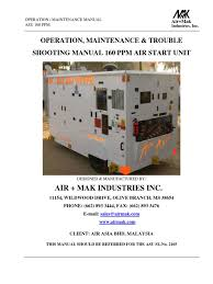 asu 160 ppm 2165 technical manual switch relay