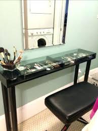 2 Piece Vanity Set Vanities Bronze Glass Top Vanity Set 2 Piece Full Image For